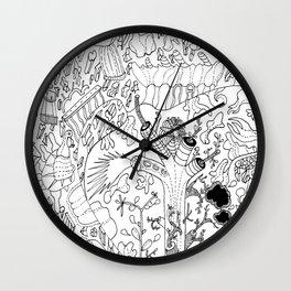 Amorphous Tree Wall Clock