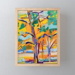 Tree on the Green Framed Mini Art Print