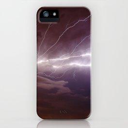 Nature's Light Show iPhone Case