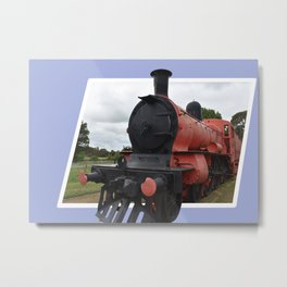 Lismore Steam Train Metal Print