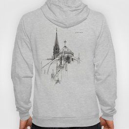 Notre Dame Cathedral Sketch Hoody