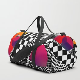 Decent of the humanity Duffle Bag