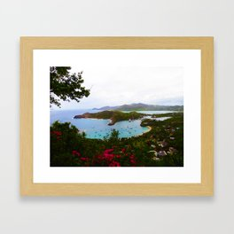 Tropical Getaway Framed Art Print