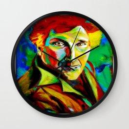 Chagall en vert Wall Clock