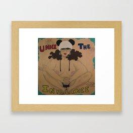 Under The Influence Framed Art Print