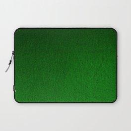Emerald Green Ombre Design Laptop Sleeve