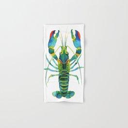 Red Claw Crayfish Lobster Hand & Bath Towel