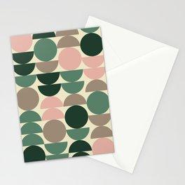 modern shapes (oxfords palette) Stationery Cards