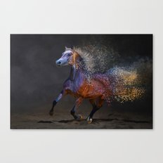 The Energy of Movement Canvas Print