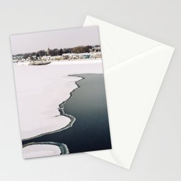 Frozen Ottawa River Stationery Cards