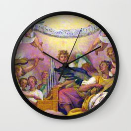 Angels in Rome Wall Clock