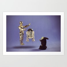 Using The Force Art Print