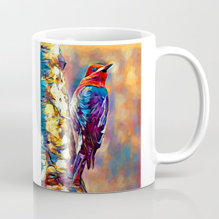 Red-Breasted Sapsucker Coffee Cup by Chris Butler - 11 oz (s6-9010163p30a27v199) photo