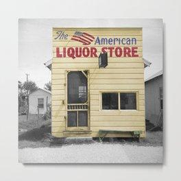 Vintage Liquor Store Metal Print