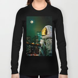 Between The Moon And The City Long Sleeve T-shirt