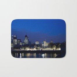 Tower of London at night Bath Mat