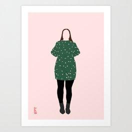 Not even a Bridesmaid Art Print