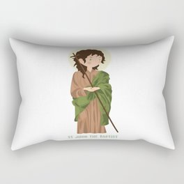 Sant John The Baptist Rectangular Pillow