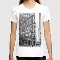 building T-shirts featuring BUILDING by Stephanie Bosworth
