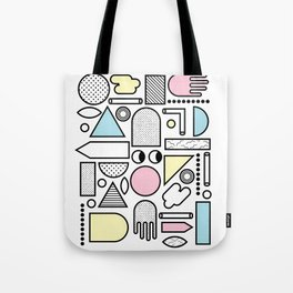 Shapes for Dayz Tote Bag
