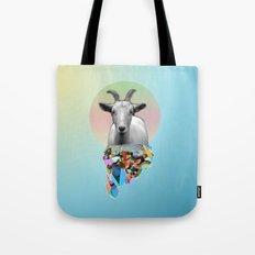 Titanium Goat Tote Bag