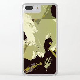 Crumb Politics Clear iPhone Case