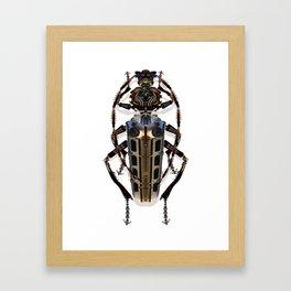 long-horned beetle Framed Art Print