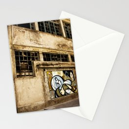 Facade at the port of Porto Stationery Cards