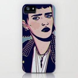 Rock Betty iPhone Case