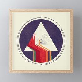 Portal Study Framed Mini Art Print