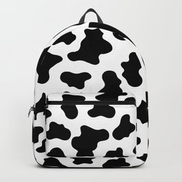 Moo Cow Print Backpack