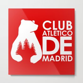 Slogan: A. Madrid Metal Print
