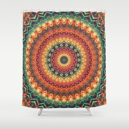 Mandala 254 Shower Curtain