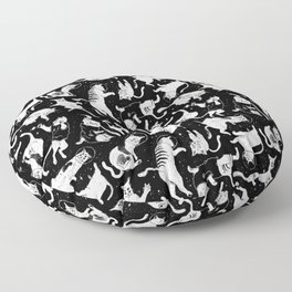 YONIL Space Program pattern Floor Pillow