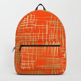 Crosshatch Fire Backpack