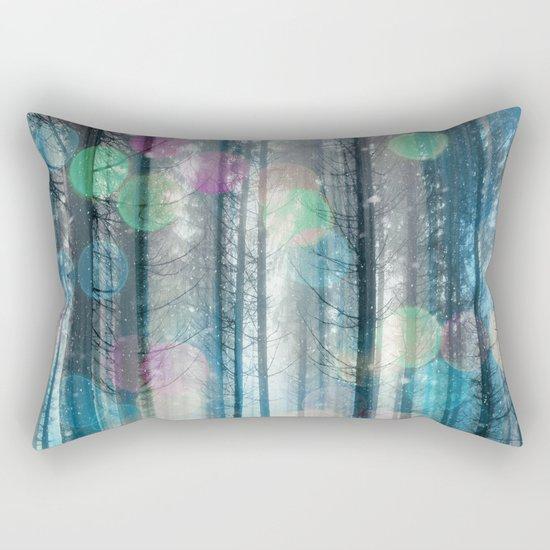 Happy Holidays 3 Rectangular Pillow