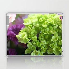 Mini Green Hydrangea Flower Bouquet Laptop & iPad Skin