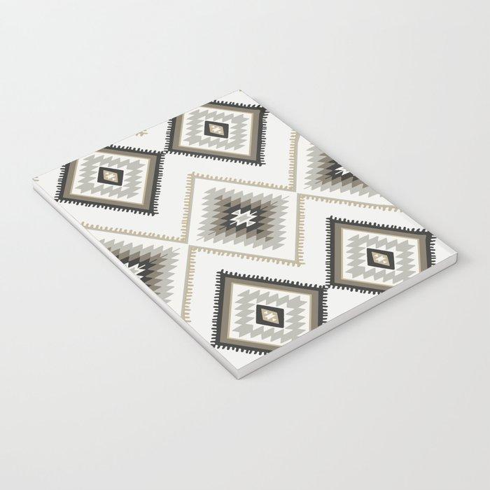 Beige Aztec Notebook