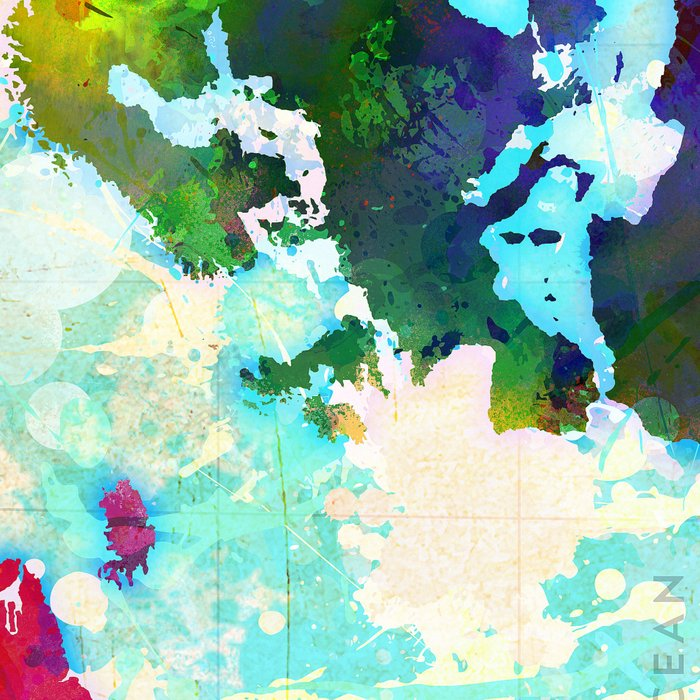 Abstract Map Of The World.Abstract Map Of The World Leggings By Redssr03 Society6