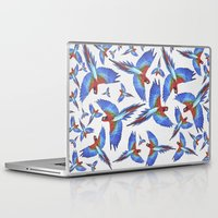 parrot Laptop & iPad Skins featuring Parrot. by Eleaxart