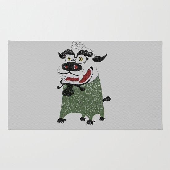 Shishi 獅 Rug