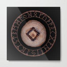 Ingwaz - Elder Futhark rune Metal Print
