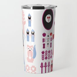 Good vs Evil: Snow White and the Evil Queen Travel Mug