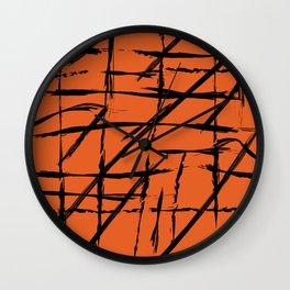 Inked III Wall Clock
