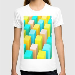 Color Blocking Pastels T-shirt