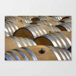 Barrels Of Wine Canvas Print