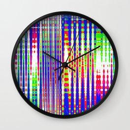 italy pattern Wall Clock