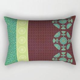 Tea and Leaves Rectangular Pillow