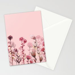 For Her ! Pink Flowers Stationery Cards