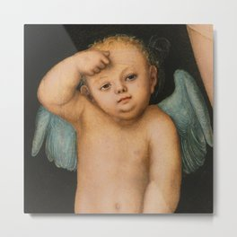 "Lucas Cranach the Elder ""Cupid"" Metal Print"